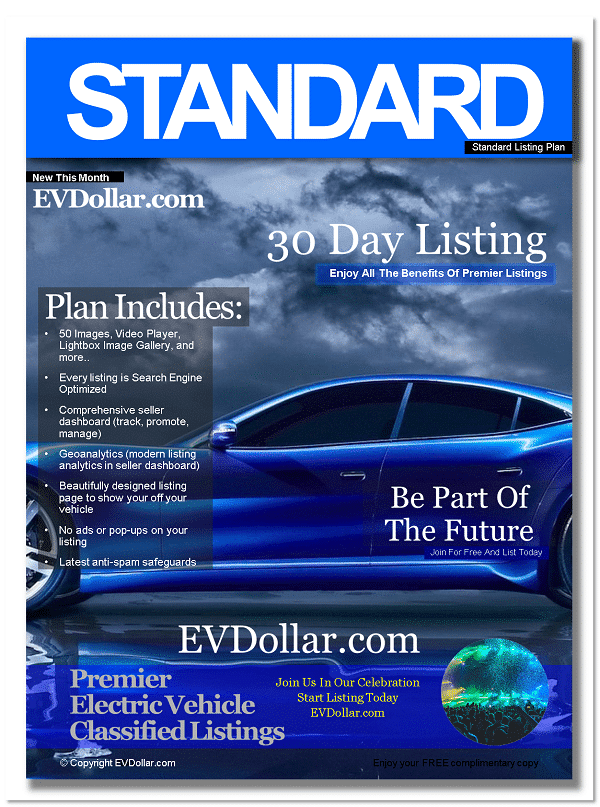 EV Classifieds - Electric Cars For Sale | Buy & Sell EV