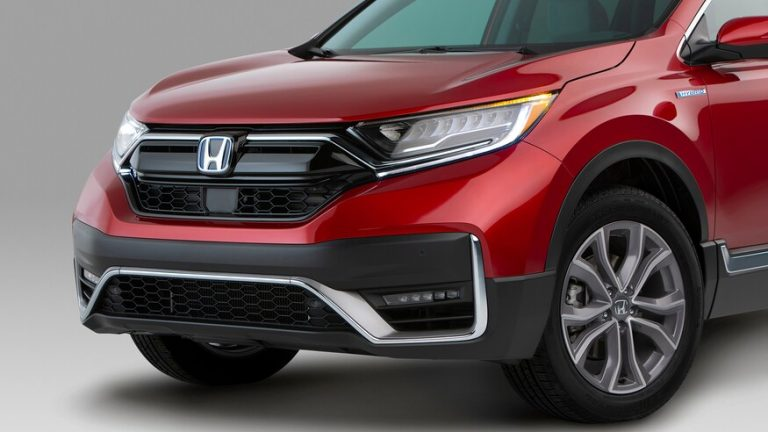 Honda CR V Hybrid headlights
