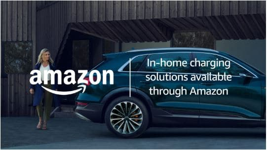 amazon audi home charging station